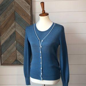 Brooks Brothers silk Blend Sweater 2 piece Set